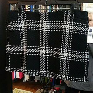 NWT plaid Gap skirt